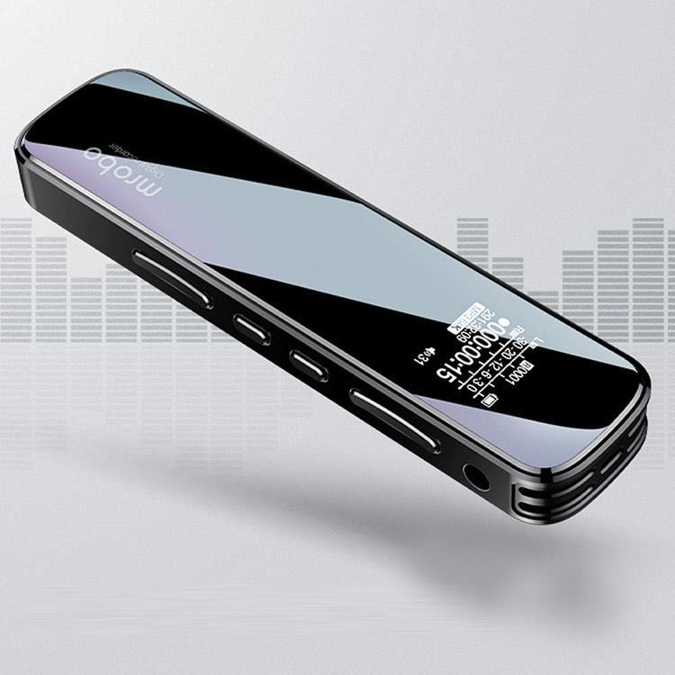 炫黑鏡面雙功能MP3隨身聽錄音筆-J07
