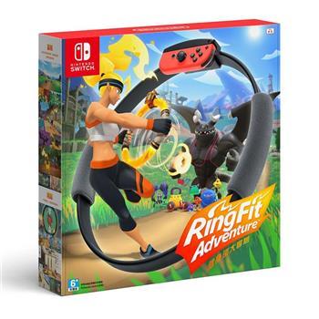 【Nintendo 任天堂】Switch 健身環大冒險+專屬控制器Ring-Con(中文版)