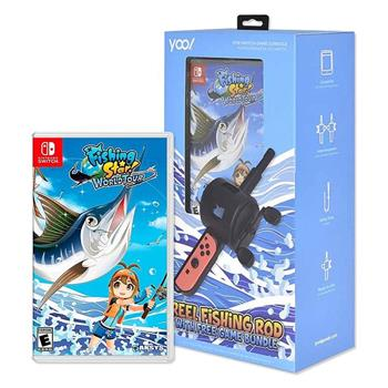 【Nintendo 任天堂】Switch 釣魚明星 世界巡迴賽 (釣竿同捆組) 中文版