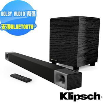 【美國Klipsch】2.1聲道 無線超低音聲霸 家庭劇院組 Cinema 400
