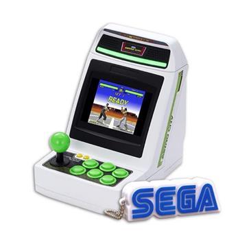 SEGA Astro City Mini 迷你主機+SEGA有聲鑰匙圈(預定收錄36款遊戲作品)