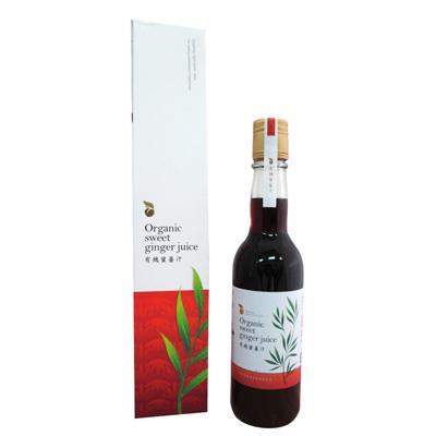 清亮農場-有機蜜薑汁(300ml/瓶)_A014007