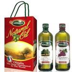 Olitalia奧利塔特級冷壓橄欖油+葡萄籽油禮盒組(1000mlx2瓶)