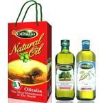 Olitalia奧利塔特冷壓橄欖油+玄米油禮盒組(500mlx2)