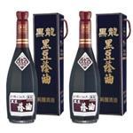 黑龍特級黑豆蔭油(清油)料理組600mlx2瓶