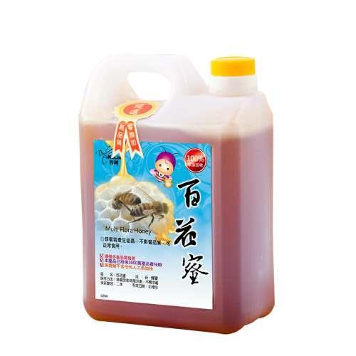 【客錸】優選台灣國產百花蜜1800g x1