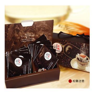 【戀松鶴】松鶴迷戀100%台灣種植掛耳濾泡咖啡(16包入/每包10g±5%)