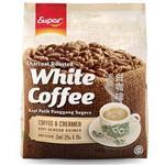 【超級咖啡】二合一炭燒白咖啡-無糖(15入*2袋組)※本品效期為2018.03.09※