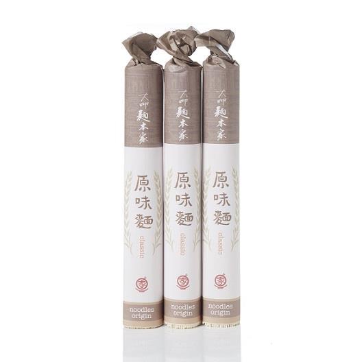 【大呷麵本家】 經典麵條450g/包x3