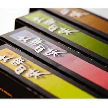 【大呷麵本家】 大呷四味盒裝麵條(芋頭+糙米+烏龍茶+包種茶)100g/盒x4