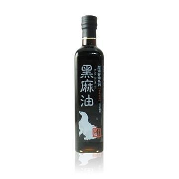 炭道飄香黑麻油單瓶組(500ml/瓶)