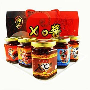【好神】優選伴手禮XO醬禮盒5入(170g/罐,3罐/盒)
