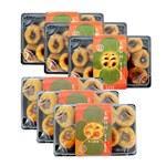《好客-良柚柿餅》石柿餅三盒(約350g/盒)+牛心柿餅三盒(約400g/盒),共六盒