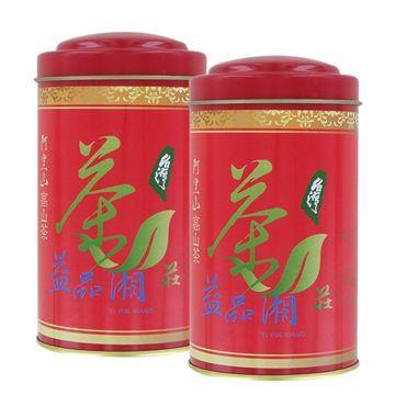 【益品湘】阿里山手採高山金萱茶(清香型150克)2入組