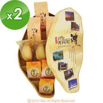 《台灣寶島》綜合鳳梨酥禮盒(9入)2盒
