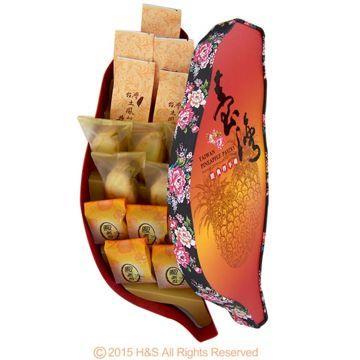 《台灣寶島》綜合鳳梨酥禮盒(15入)
