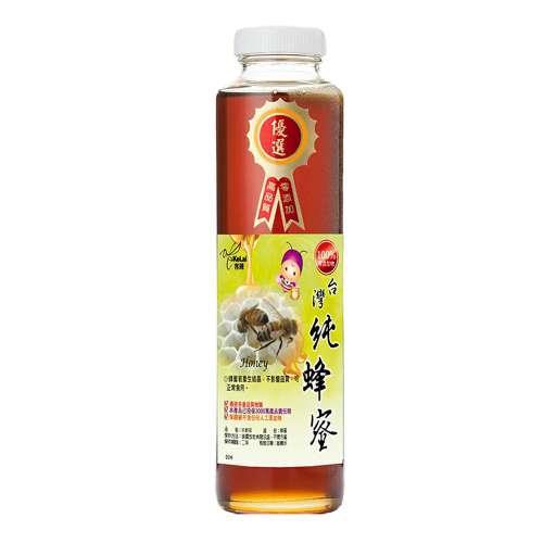 【客錸】優選台灣純蜂蜜820g x1