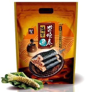 【福禧齋】海苔醬燒魚卷-芥末(70g 七入袋裝)