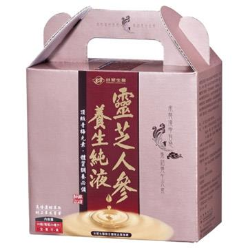【台塑生醫】靈芝人參養生純液(20ml x30瓶)