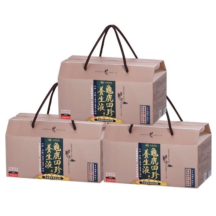【台塑生醫】龜鹿四珍養生液(50ml x14瓶)3盒/組