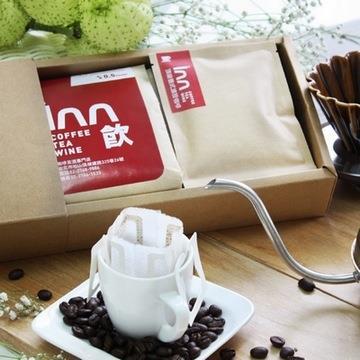 【歐杰inn】莊園頂級咖啡禮盒(義式咖啡豆+頂級義式濾掛咖啡)