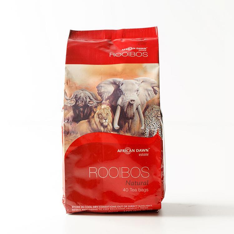 【非洲晨曦】南非國寶茶-天然原味(40包/袋)三入組