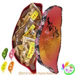 《和之心》精選綜合大寶島果乾禮盒(芭樂/楊桃/芒果/鳳梨各150克)