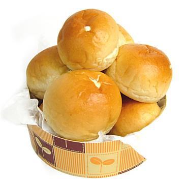 【台灣鑫鮮】爆漿奶油餐包60個/袋