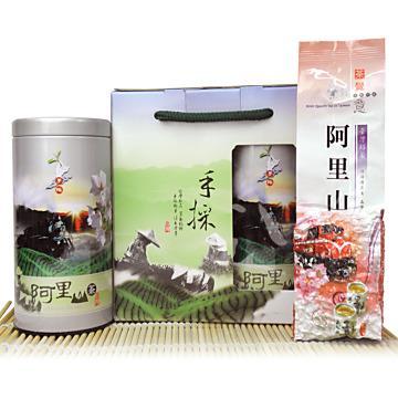 【醒茶莊】高海拔優質阿里山烏龍茶禮盒300g(1組)