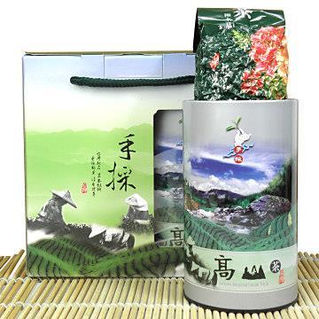 【醒茶莊】御品高山金萱茶葉禮盒300g(1組)