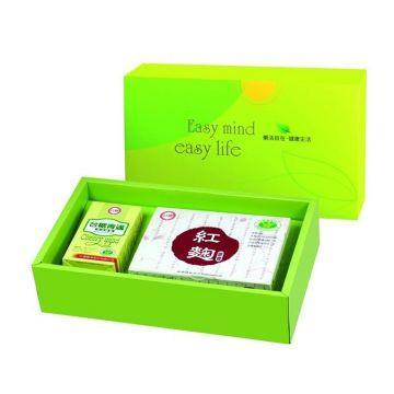 【台糖】元氣舒活保健禮盒(精選魚油+紅麴膠囊)