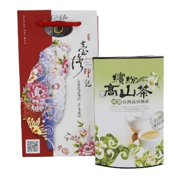 【龍源茶品】台灣極品繽紛高山烏龍熟香袋茶10包罐組