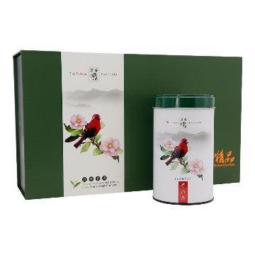 【龍源茶品】國寶級朱雀台灣高山茶精品禮盒2罐組(150g/罐)