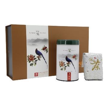 【龍源茶品】國寶級台灣藍鵲凍頂烏龍精品禮盒2罐組(150g/罐)