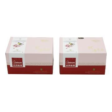【龍源茶品】台灣國寶級鳥類圖騰4盒精品典藏禮組(150g/盒)