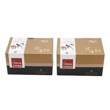 【龍源茶品】台灣藍鵲凍頂烏龍茶2盒組(150g/盒)