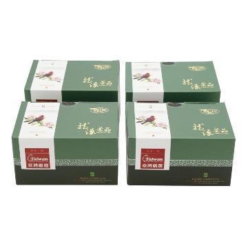 【龍源茶品】台灣五色鳥大禹嶺烏龍茶4盒組(75g/盒)