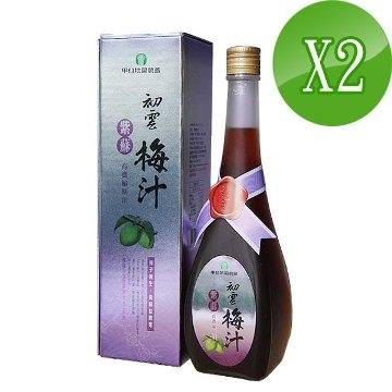 【甲仙農會】 紫蘇梅汁(2入)(共1000ml)