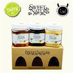 【壽滿趣】Sweet Nature - 紐西蘭 白金蜂蜜禮盒(麥蘆卡 UMF10+、琉璃苣、三葉草)