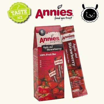 【壽滿趣- 紐西蘭原裝進口】Annies 全天然水果條(草莓15gm6片裝)~賞味期至2020.10.25