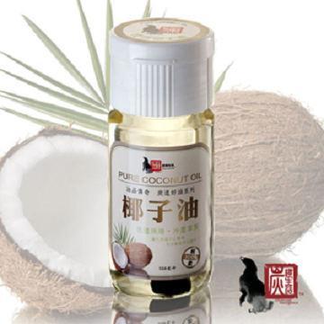 《炭道》健康冷壓椰子油6入組(550ml/入)