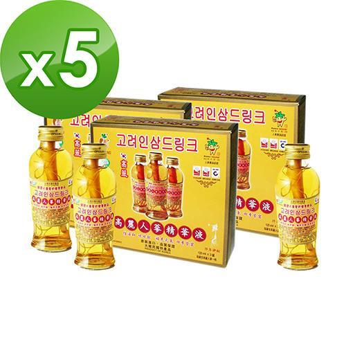 金蔘-韓國高麗人蔘精華液(120ml*3瓶) 共5盒