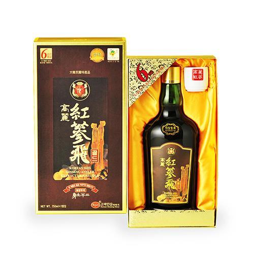 金蔘-6年根韓國高麗紅蔘飛(750ml/瓶)