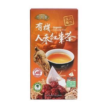 【里仁】有機人參紅棗茶