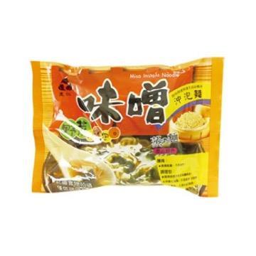 【里仁】味噌沖泡麵