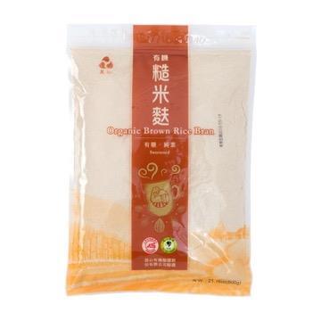 【里仁】有機糙米麩-有糖
