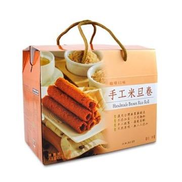 【里仁】手工米旦卷禮盒(咖啡)
