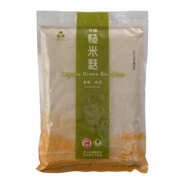 【里仁】有機糙米麩-無糖