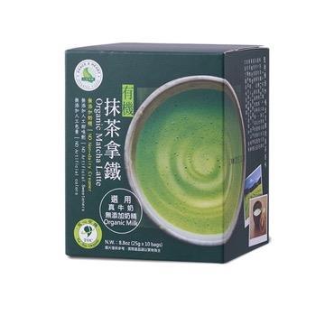 【里仁】有機抹茶拿鐵