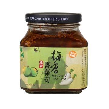 【里仁】梅香醬蘿蔔